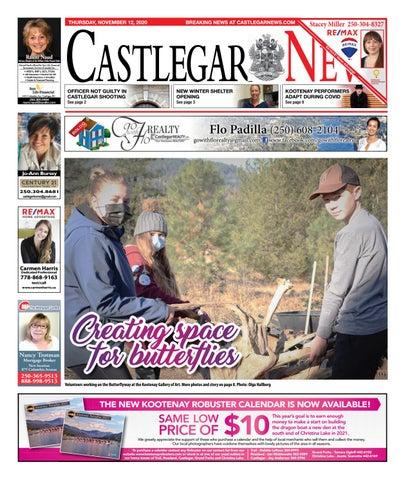 Castlegar News/West Kootenay Advertiser, November 12, 2020