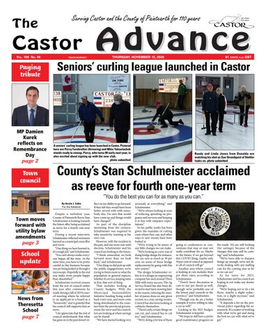 Castor Advance, November 12, 2020