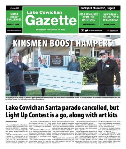 Lake Cowichan Gazette, November 12, 2020
