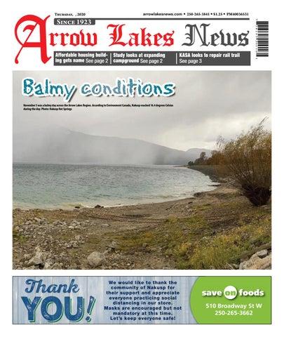 Arrow Lakes News, November 12, 2020