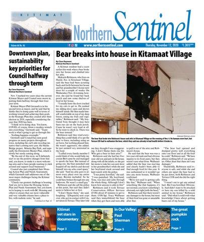 Kitimat Northern Sentinel/Northern Connector, November 12, 2020