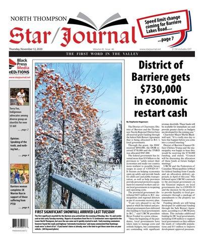Barriere Star Journal, November 12, 2020