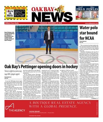 Oak Bay News, November 12, 2020