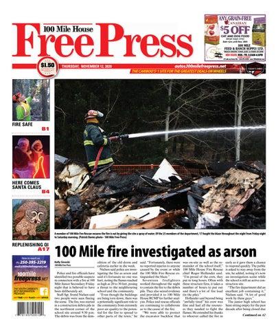 100 Mile House Free Press, November 12, 2020
