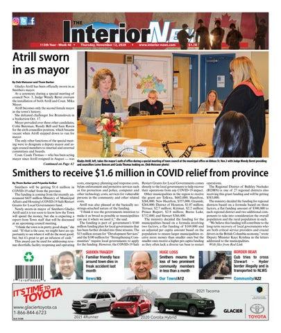 Smithers Interior News, November 12, 2020