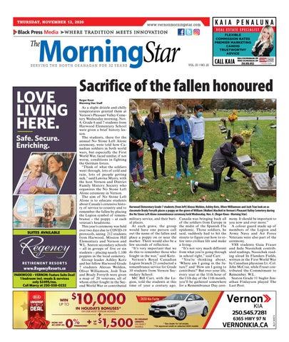 Vernon Morning Star, November 12, 2020