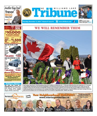 Williams Lake Tribune, November 12, 2020