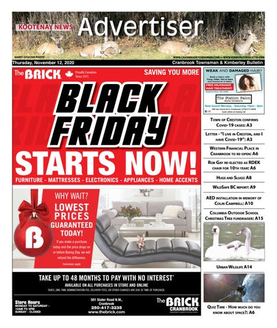 Kimberley Daily Bulletin, November 12, 2020