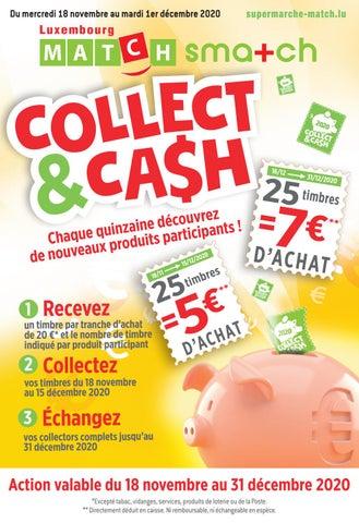 Collect&Cash, découvrez les produits participants jusqu'au 1er décembre!