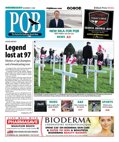 Parksville Qualicum Beach News, November 11, 2020