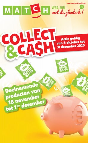 Collect&Cash, ontdek elke twee weken, nieuwe deelnemende producten!