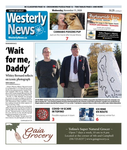 Tofino-Ucluelet Westerly News, November 11, 2020