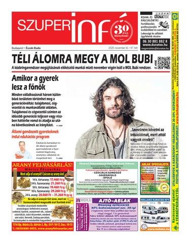 Észak-Buda 2020.11.16.