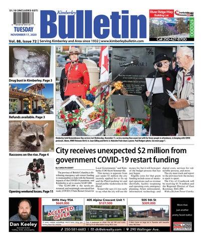 Kimberley Daily Bulletin, November 17, 2020