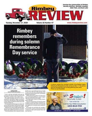 Rimbey Review, November 17, 2020