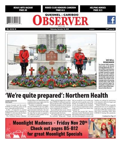 Quesnel Cariboo Observer, November 18, 2020