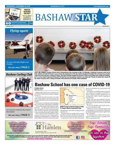 Bashaw Star, November 18, 2020