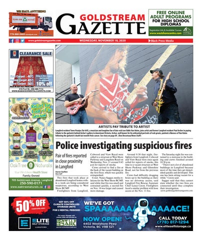 Goldstream News Gazette, November 18, 2020