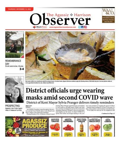 Agassiz Observer, November 19, 2020