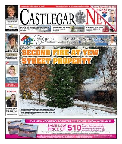 Castlegar News/West Kootenay Advertiser, November 19, 2020