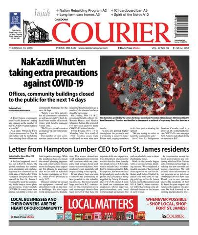 Caledonia Courier/Stuart Nechako Advertiser, November 19, 2020