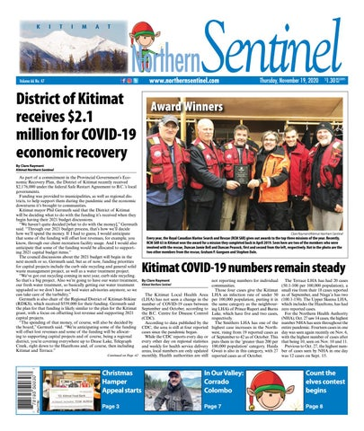 Kitimat Northern Sentinel/Northern Connector, November 19, 2020