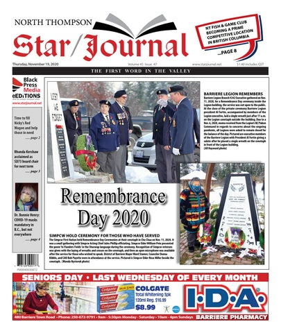 Barriere Star Journal, November 19, 2020