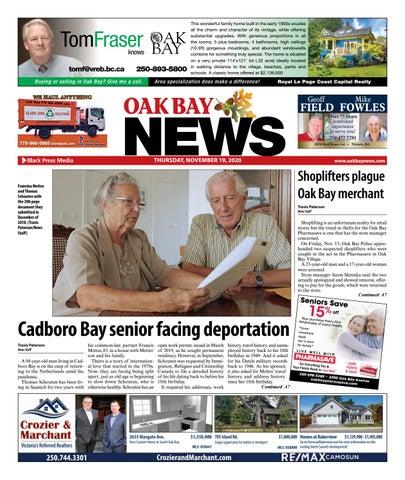 Oak Bay News, November 19, 2020