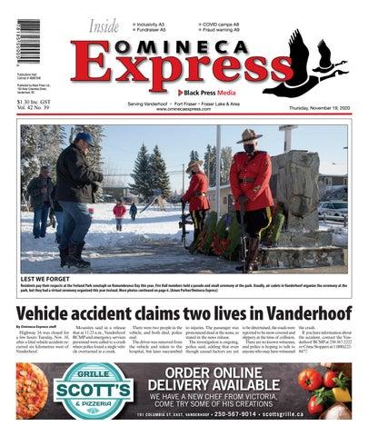 Vanderhoof Omineca Express/Stuart Nechako Advertiser, November 19, 2020
