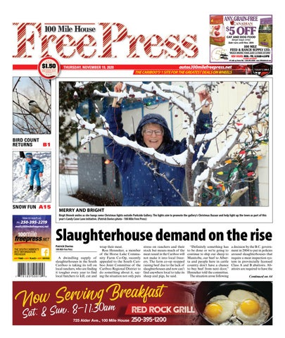 100 Mile House Free Press, November 19, 2020