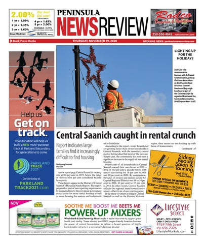 Peninsula News Review, November 19, 2020