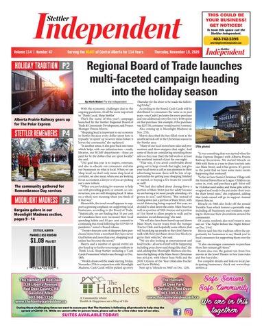 Stettler Independent, November 19, 2020