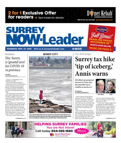 Surrey Now Leader, November 19, 2020