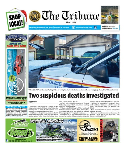 Williams Lake Tribune, November 19, 2020