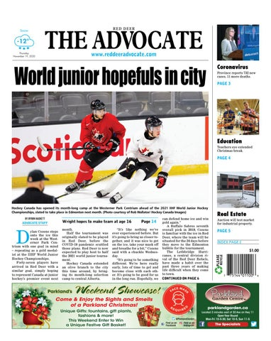 Red Deer Advocate, November 19, 2020