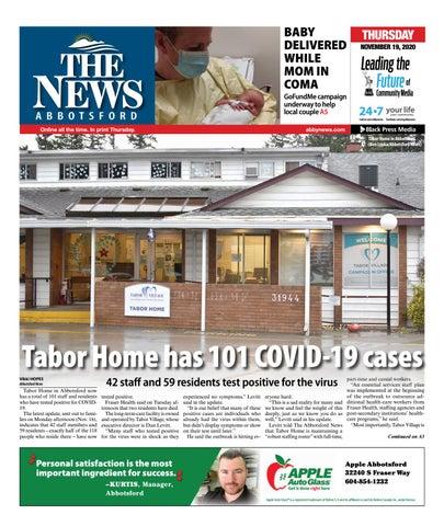 Abbotsford News, November 19, 2020