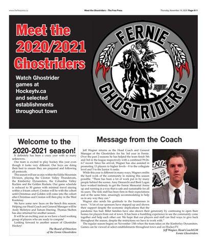 Meet the Ghostriders 2020