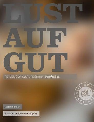 LUST AUF GUT Magazin | Magazin im Magazin </br> Special: Staufen 2