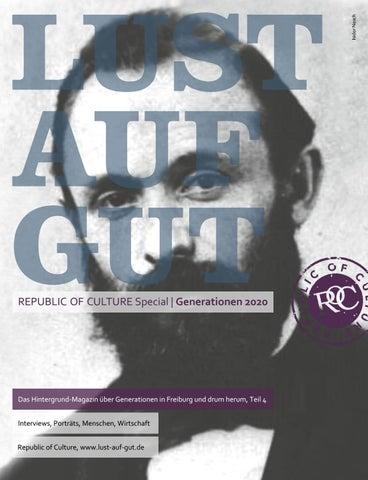 LUST AUF GUT Magazin | Magazin im Magazin | Special: Generationen 2020