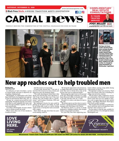 November 19, 2020 Kelowna Capital News
