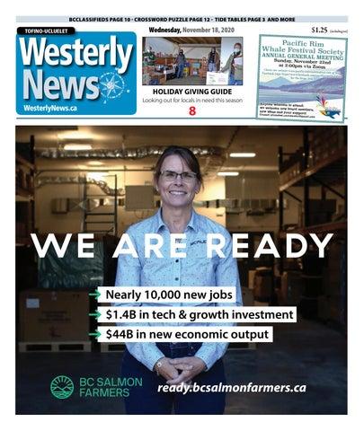 Tofino-Ucluelet Westerly News, November 18, 2020