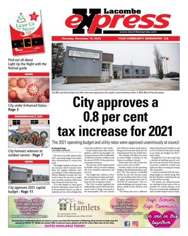 Lacombe Express, November 19, 2020