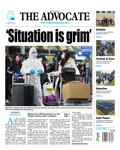 Red Deer Advocate, November 21, 2020