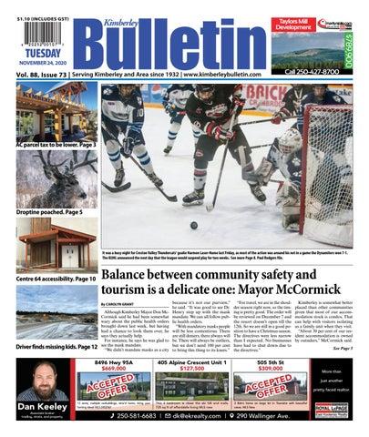 Kimberley Daily Bulletin, November 24, 2020