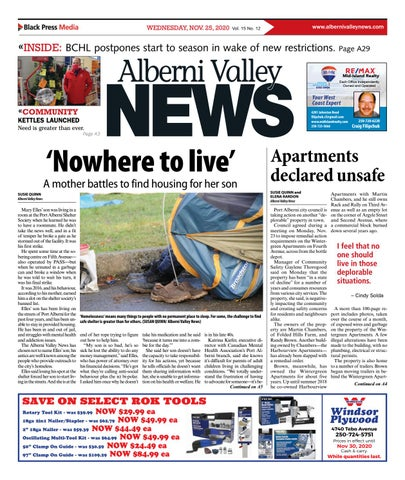Alberni Valley News, November 25, 2020