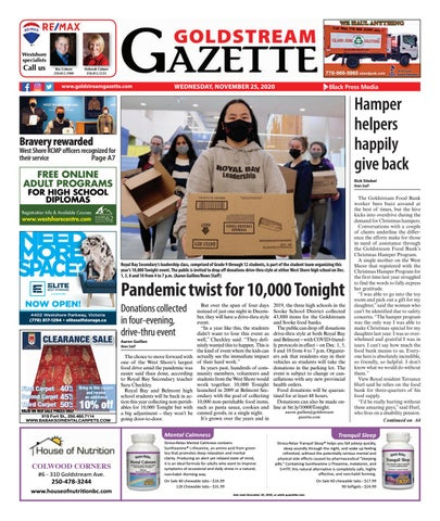 Goldstream News Gazette, November 25, 2020