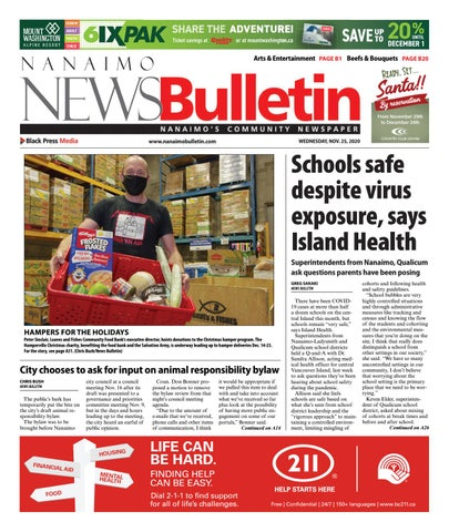 Nanaimo News Bulletin, November 25, 2020