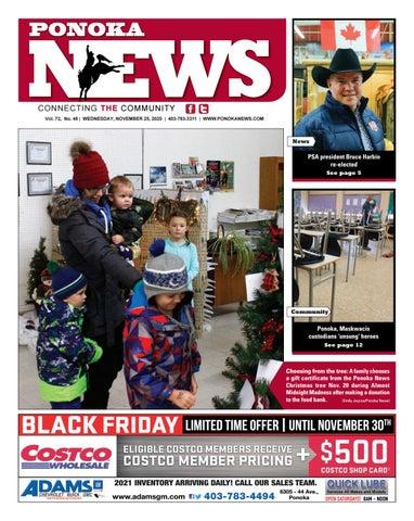 Ponoka News, November 25, 2020