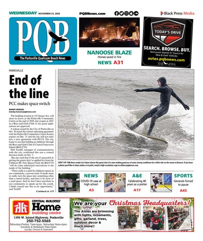 Parksville Qualicum Beach News, November 25, 2020
