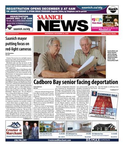 Saanich News, November 25, 2020